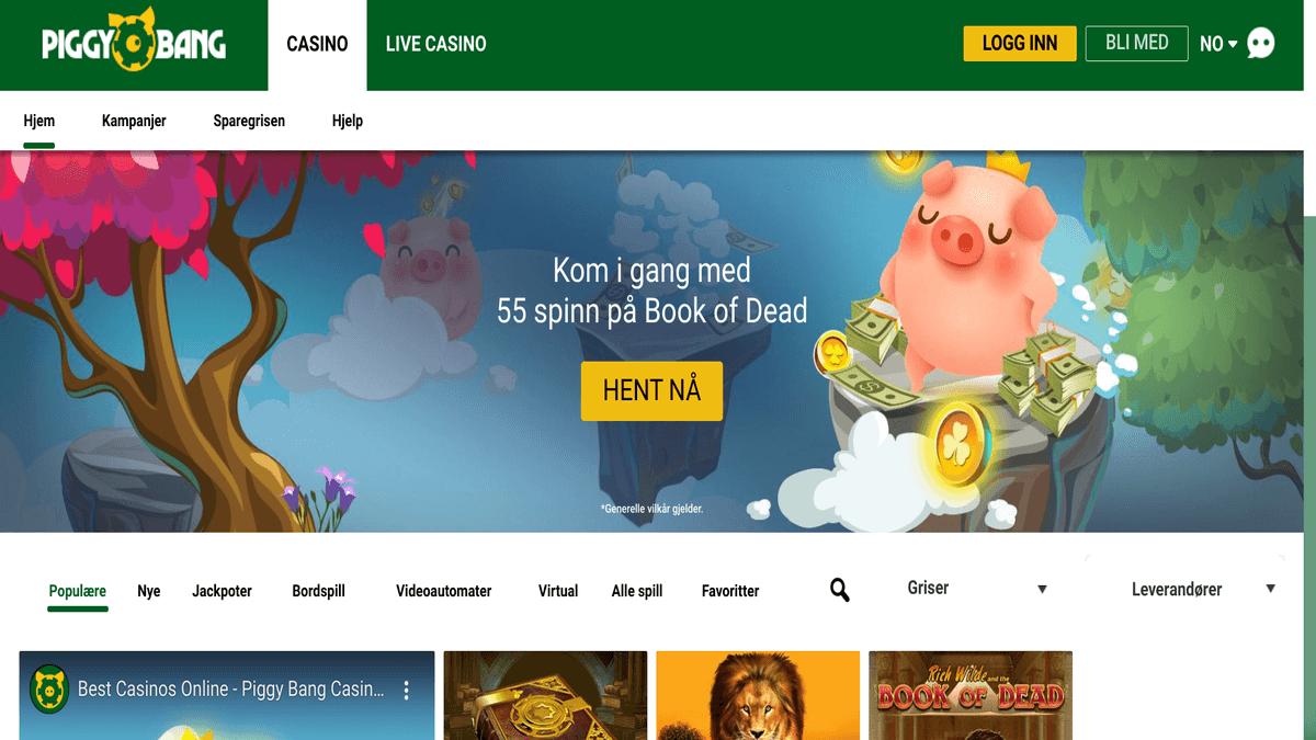 Anmeldelse av Piggy Bang Casino